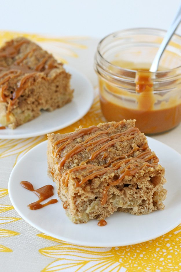 Caramel Apple   Caramel, apples and cinnamon combine to make the best fall breakfast treat ever!