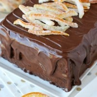 This Chocolate Orange Cake rich, moist, flavorful and simply gorgeous!