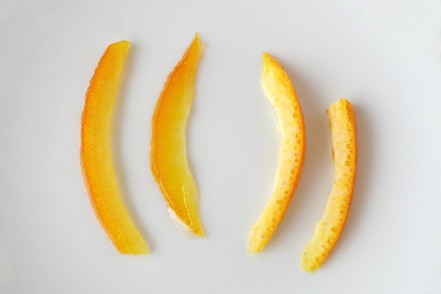 How to make candied orange peel, perfect for muffins, cookies and cakes!