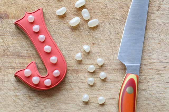 How to make marquee style cookies - A simple, modern and fun design!