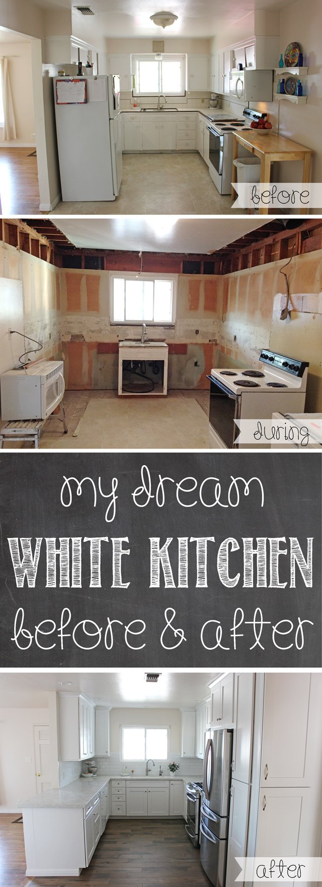 White Kitchen Remodeling My Dream White Kitchen Glorious Treats