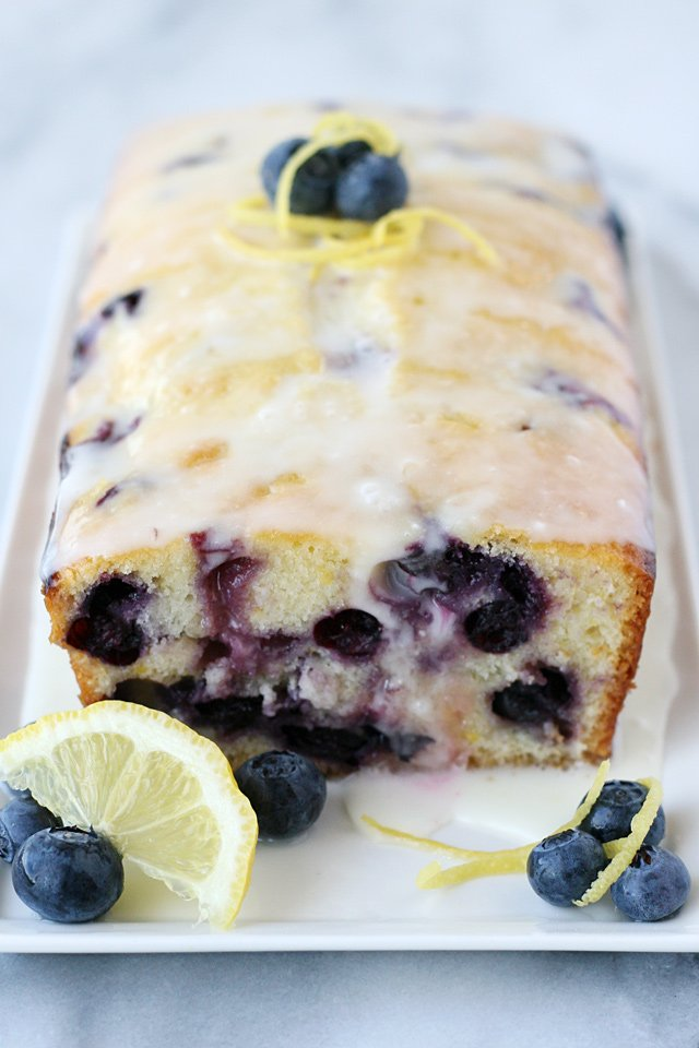 Moist, flavorful and delicious Lemon Blueberry Bread Recipe