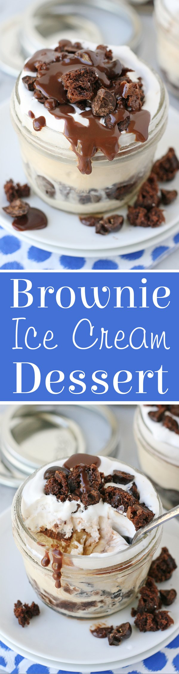 Simply incredible!! Brownie, coffee ice cream, fudge and whipped topping... this frozen treat is to die for!!