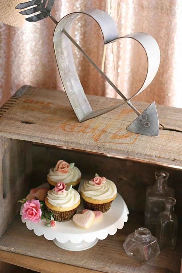 Beautifully rustic and romantic! Vintage Wedding Dessert Table ideas