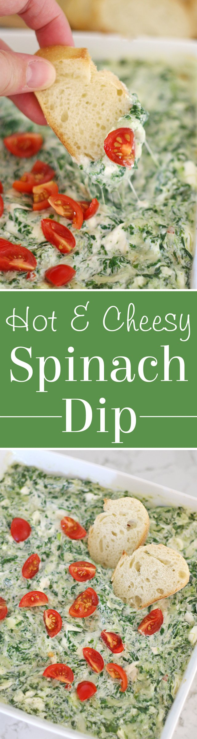 Hot Spinach Dip – Glorious Treats