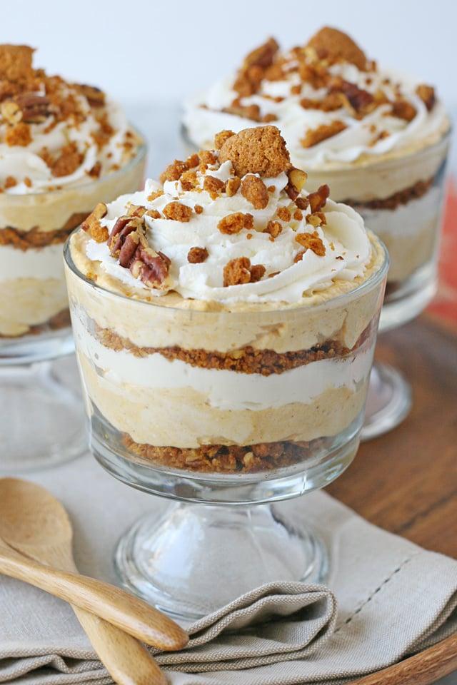 Pumpkin Cheesecake Trifle Glorious Treats