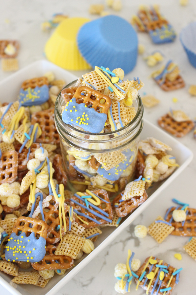 Simple SNACK MIX RECIPE perfect for school events!