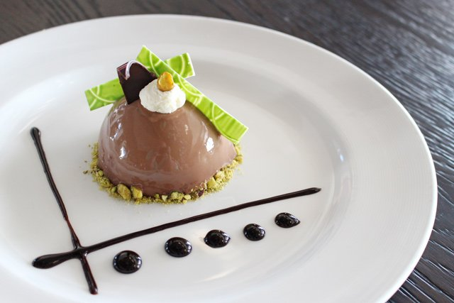 Princess Cruises - Chocolate Pistachio Dessert