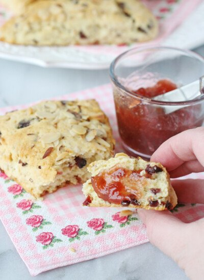 Delicious recipe for homemade Scones! This recipe can be adjusted with a variety of mix ins!