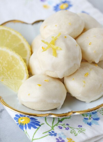 Lemon High Tea Cookies - Buttery, flavorful, melt-in-your-mouth delicious!