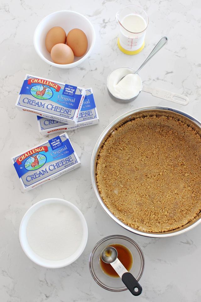 Simply the BEST Vanilla Cheesecake Recipe!