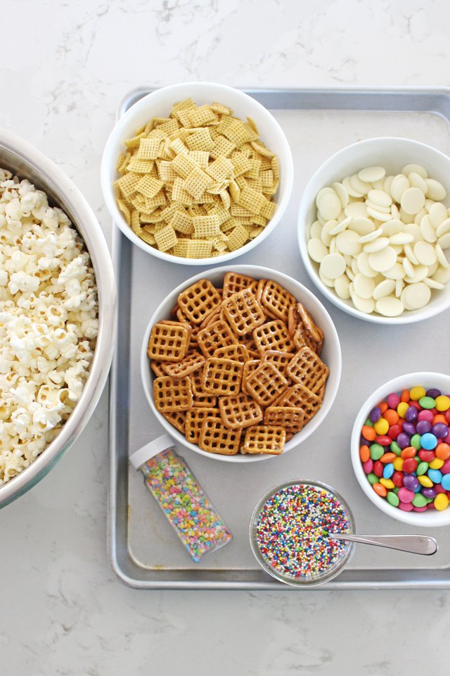 Easy and delicious SNACK MIX RECIPE!