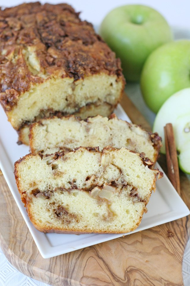 Simply delicious APPLE CINNAMON BREAD RECIPE!