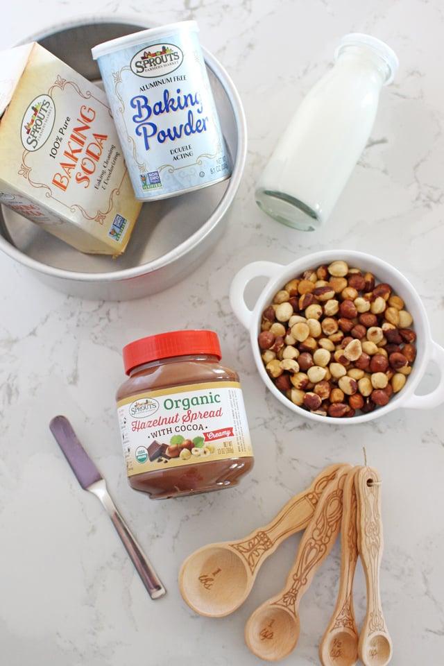 Chocolate Hazelnut Cake Ingredients