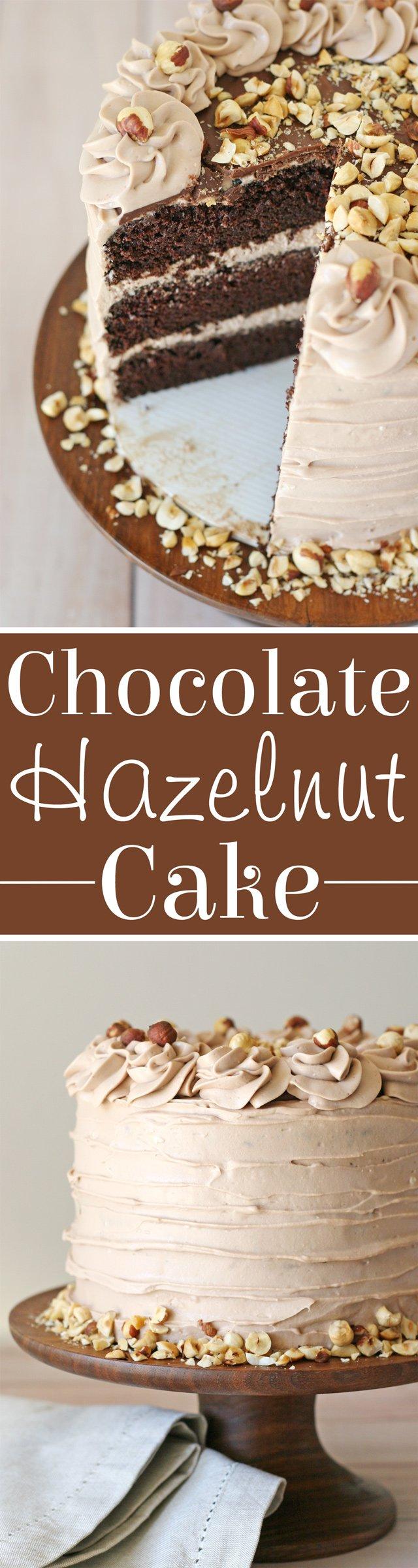 Chocolate Hazelnut Cake Recipe... YUM!