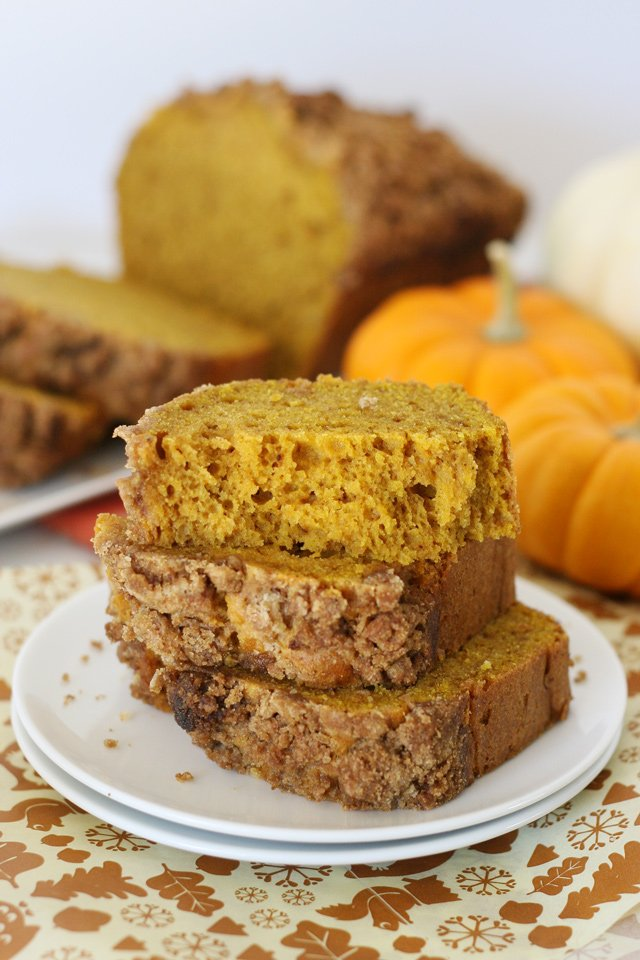 Simply perfect PUMPKIN BREAD! The perfect recipe for fall!