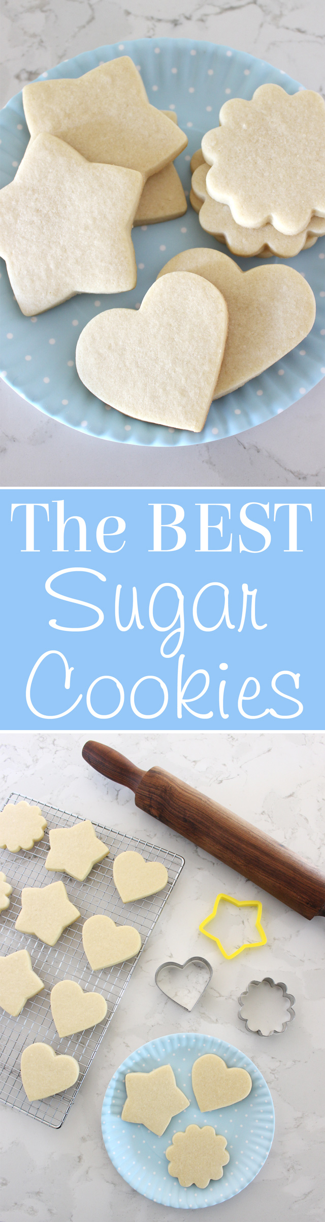 Simply the BEST Sugar Cookie Recipe ever!!