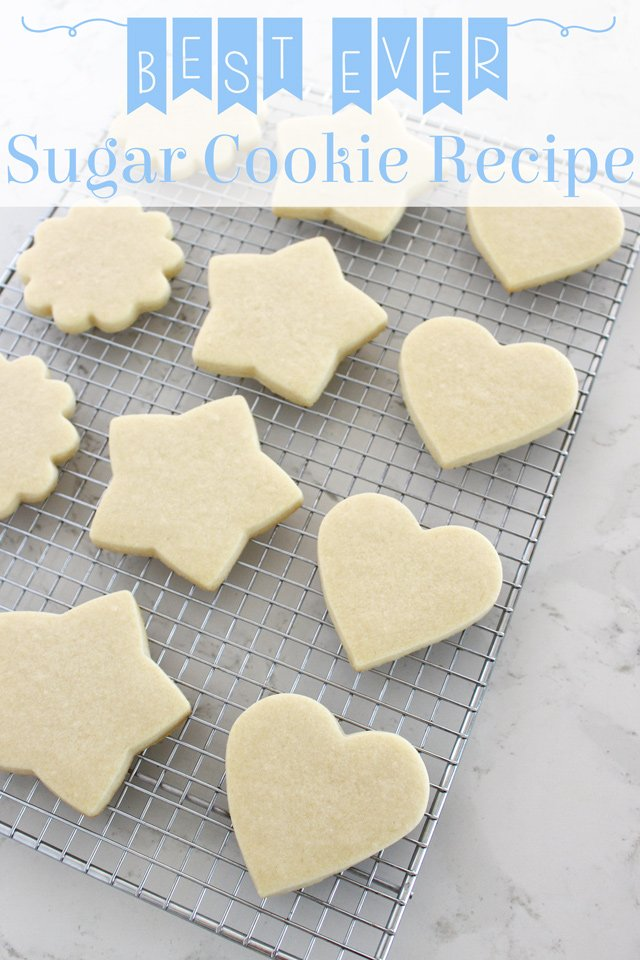Simply the PERFECT SUGAR COOKIE RECIPE!