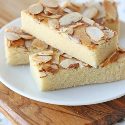 Almond Bars - Nutty, buttery and delicious!