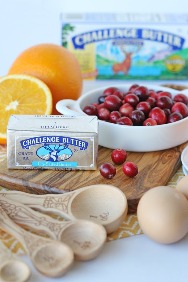 Cranberry Orange Bread Recipe - Sweet, tart and delicious!
