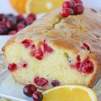 Cranberry Orange Bread Recipe - Sweet, tart and delicious!