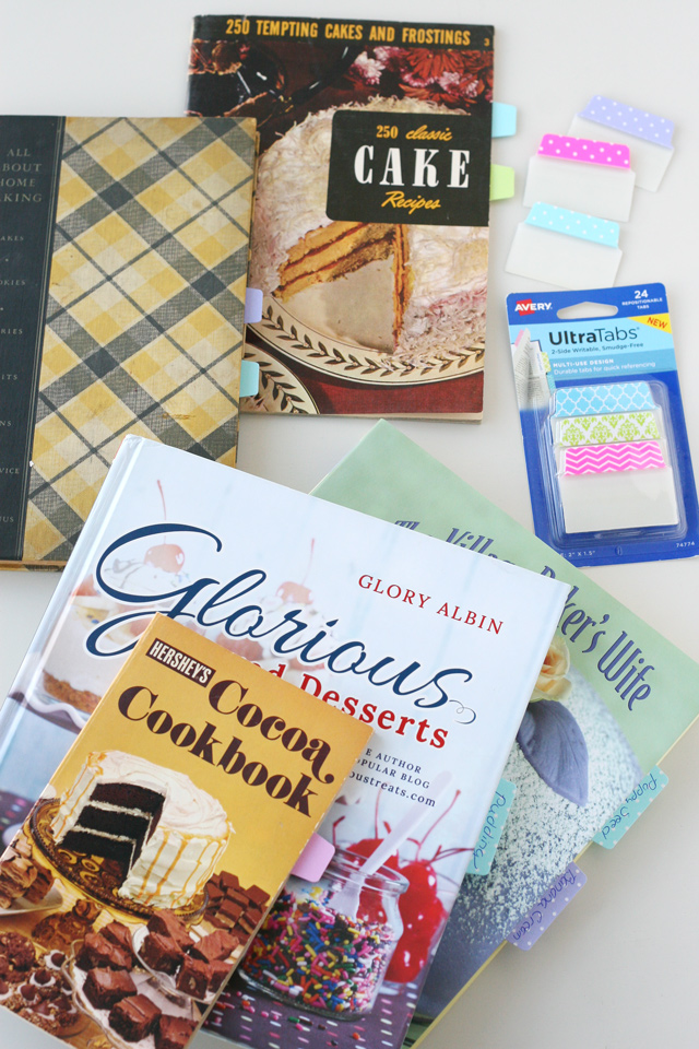 How to organize your favorite cookbook recipes