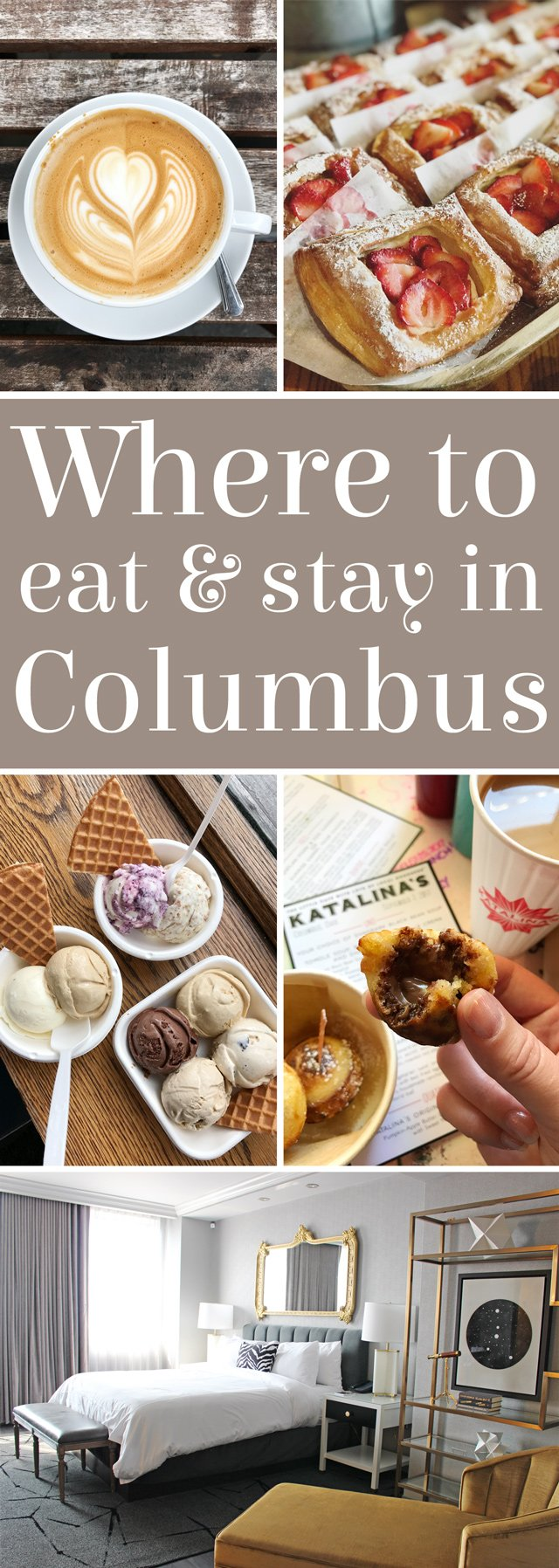Where to eat and stay in Columbus, Ohio
