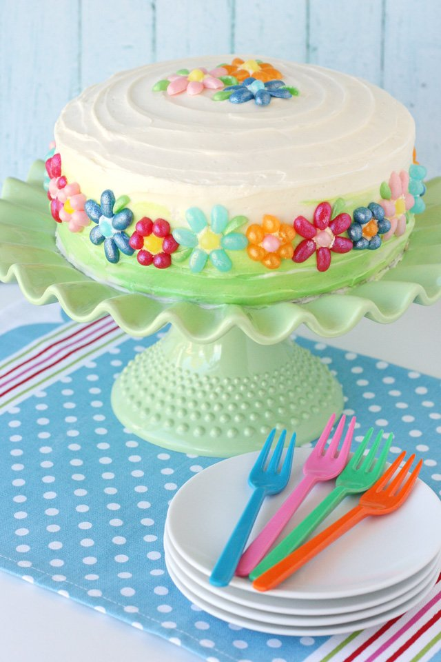 Easter Jelly Bean Cake