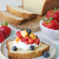 Simply the BEST Pound Cake Recipe!
