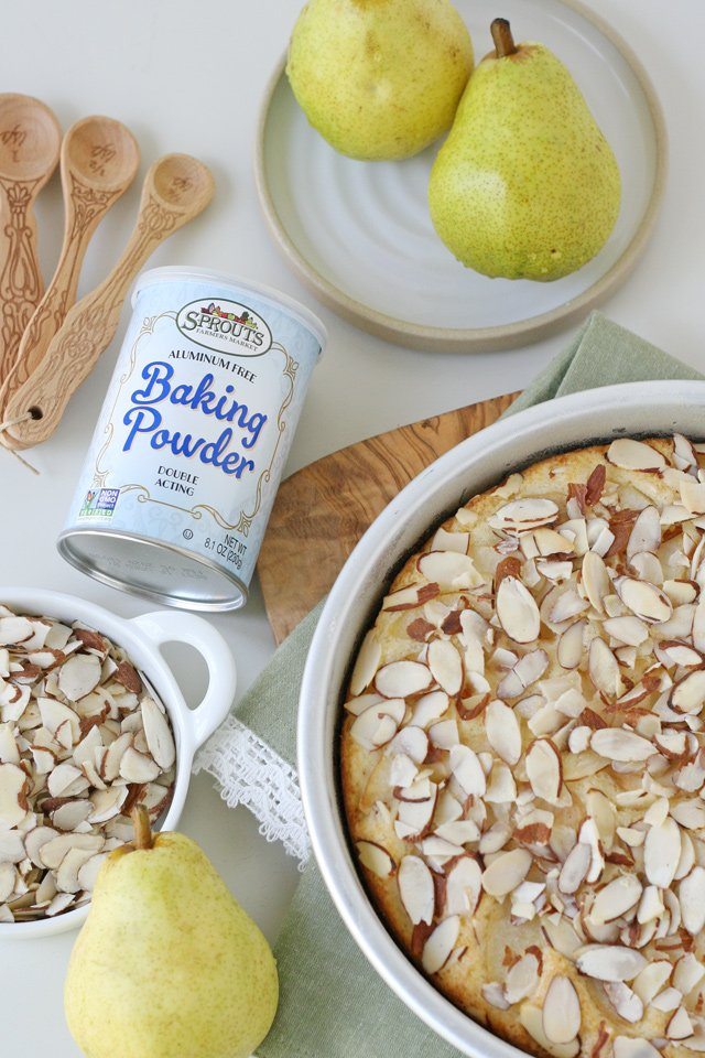 Easy Pear Almond Cake Recipe