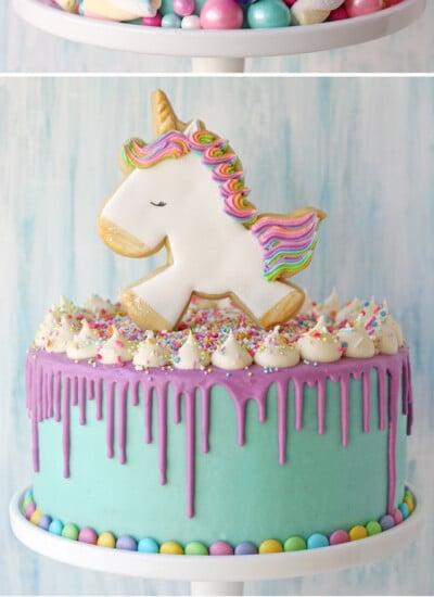 Drip Birthday Cakes