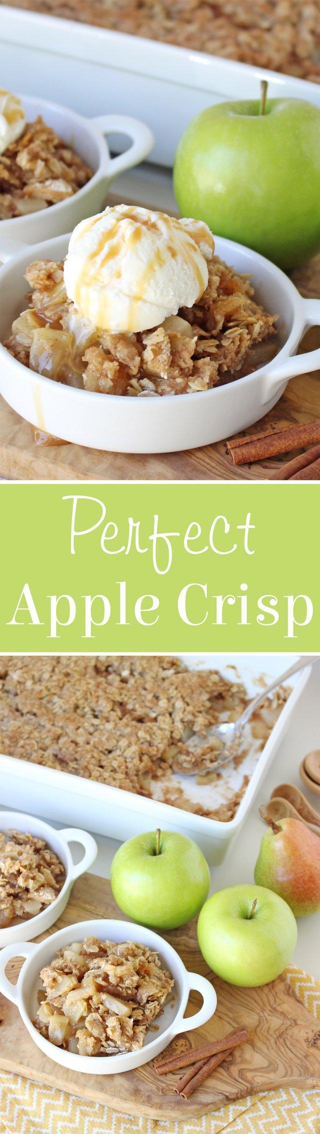 The BEST Apple Crisp Recipe!