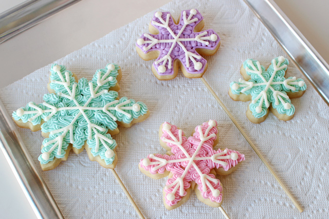 Buttercream Decorated Cookies