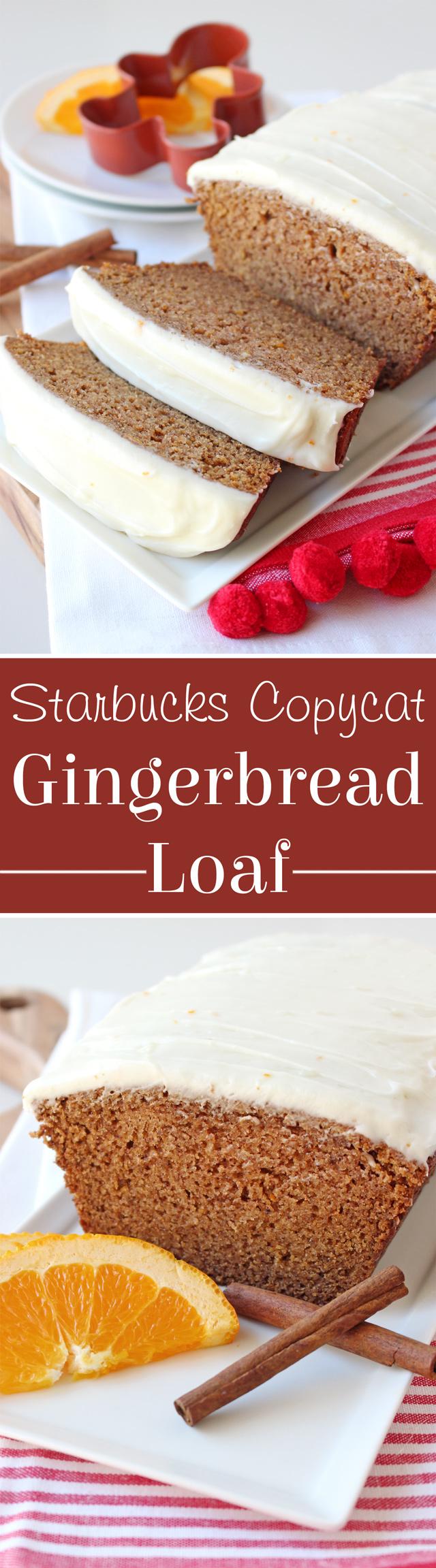 Gingerbread Loaf Recipe - Starbucks Copycat