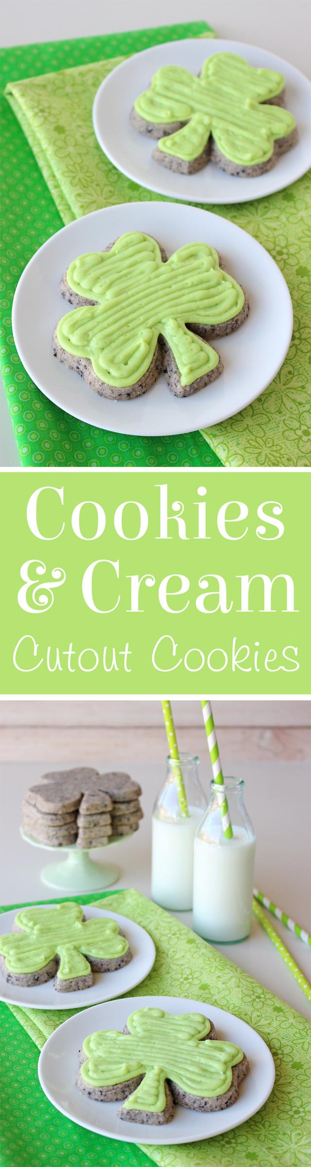 Oreo Cutout Cookies