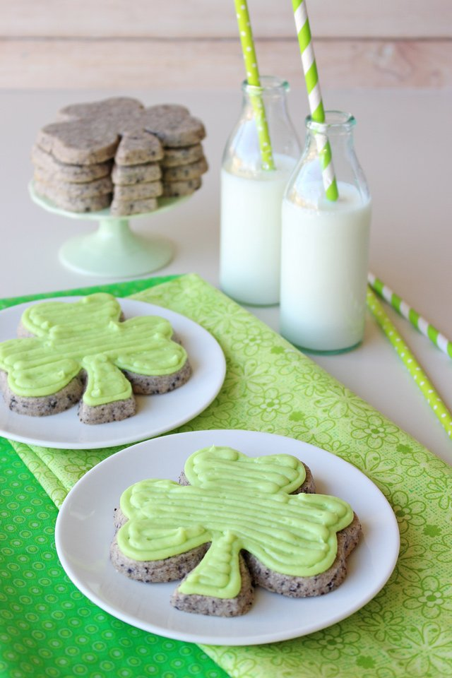 Cookies Cream Cutout Cookies