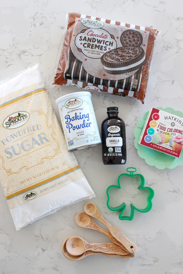 Shamrock Cutout Cookies