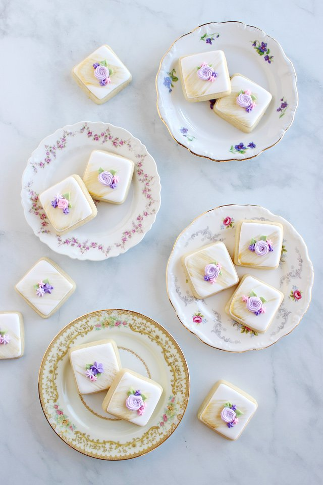 Fancy Tea Party Cookies