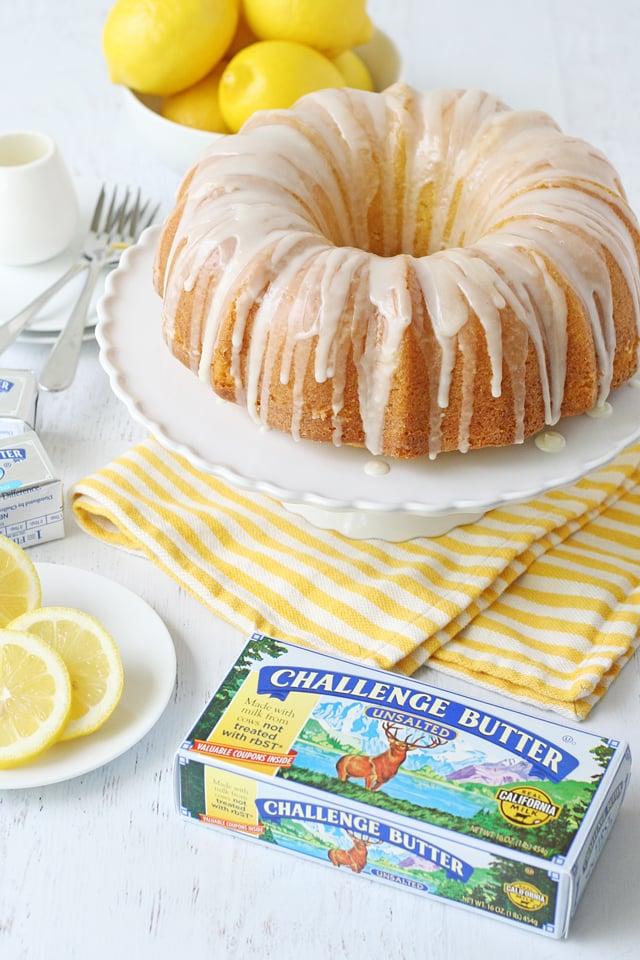 Lemon Bundt Cake Recipe
