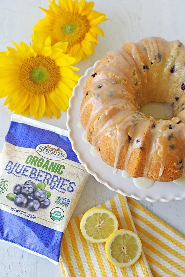 Lemon Blueberry Bundt Cake