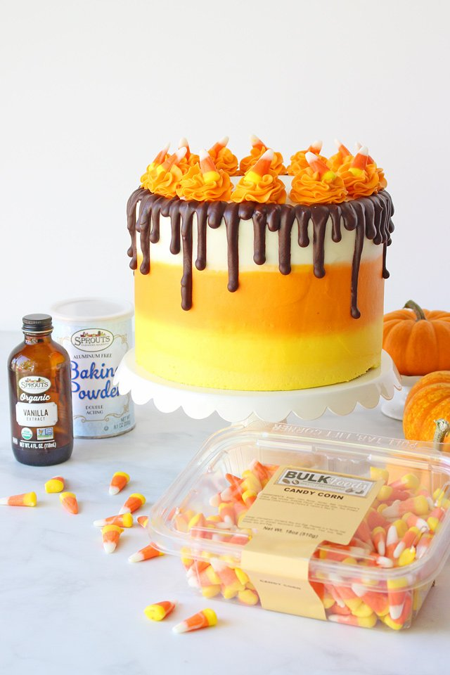 Candy Corn Cake Recipe