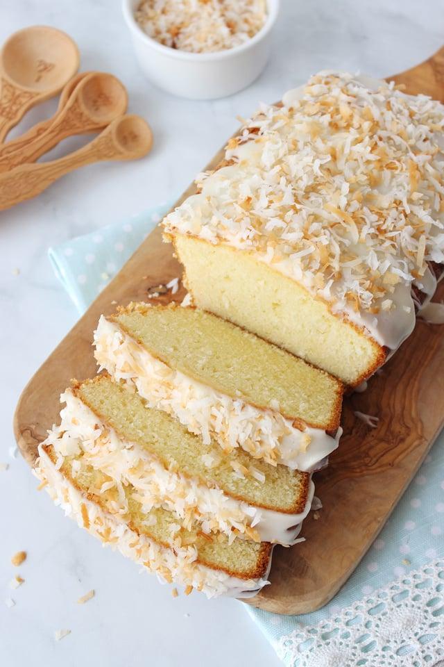 Coconut Pound Cake